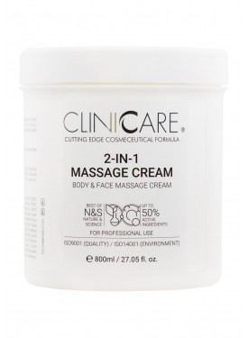 ClinicCare 2in1 Massage Cream pour soins Radiofréquence Suisse
