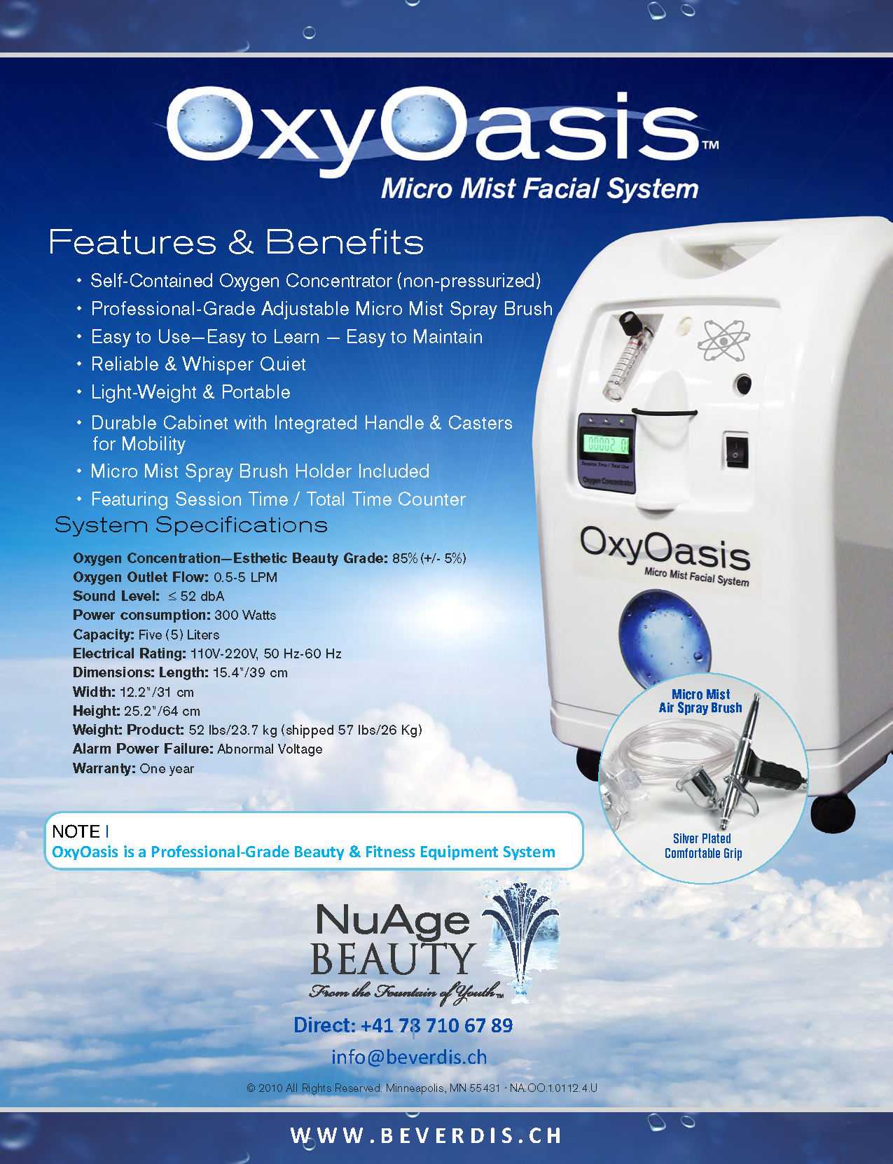 OxyOasis Cocoon
